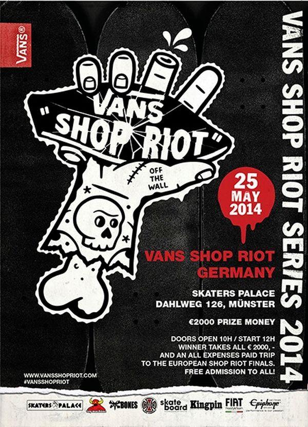 Vans Shop Riot Münster 2014.  Foto: Veranstalter
