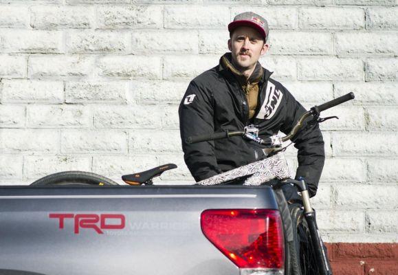 Aaron Chase im Portrait.  Foto: Matt Stanley/Red Bull Content Pool