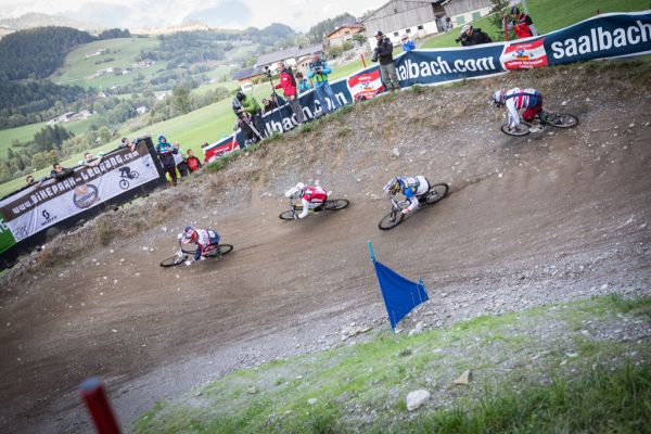Four Cross in Leogang.  Foto: Michael Marte
