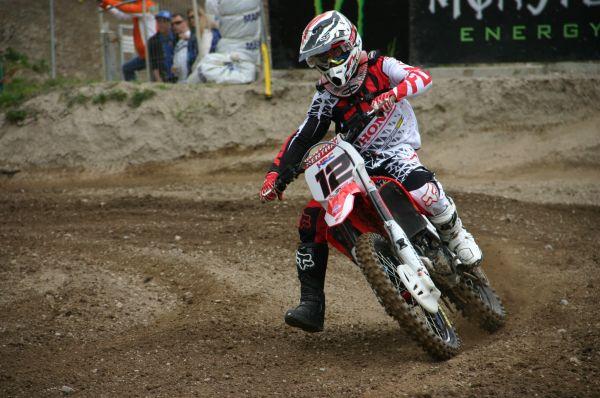 Max Nagl beim ADAC MX Masters.  Foto: ADAC Motorsport