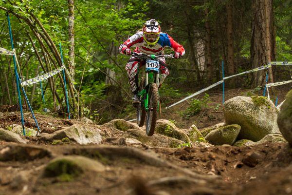 iXS European Downhill Cups im italienischen Val di Sole Foto: Thomas Dietze