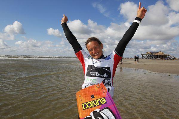 Kristin Boese Interview 2014.  Foto: www.kitesurfworldcup.de