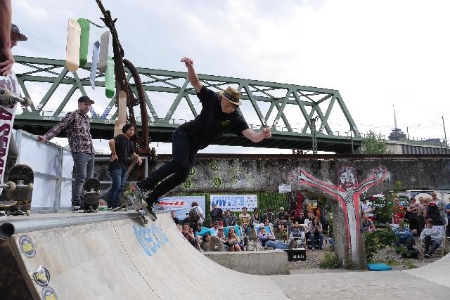 Das Surf&Skate Festival kommt 2014 nach Köln.  Foto: Veranstalter