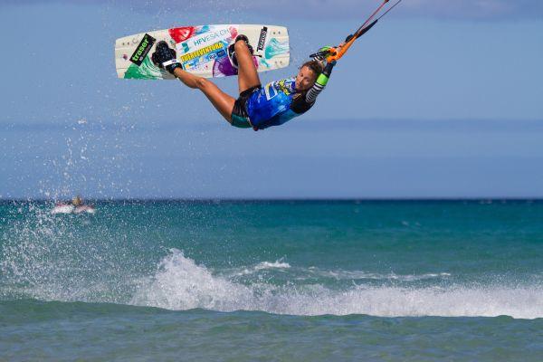 Kiteboarding World Cup Fuerteventura 2014.  Foto: TB