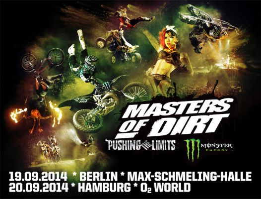 Masters of Dirt Deutschland 2014.  Foto: Veranstalter