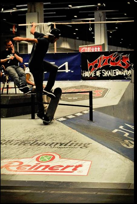 PlayStation 4 COS Cup K�ln 2014.  Foto: Dennis Scholz/http://www.clubofskaters.de