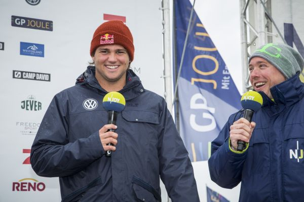 Philip Köster Interview 2014 Windsurf World Cup Sylt.  Foto: Act Agency
