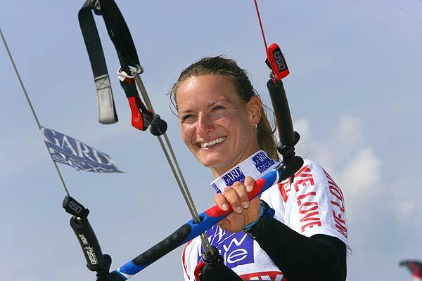 Die amtierende Weltmeisterin Kristin Boese aus Potsdam freut sich auf ihr Heimspiel