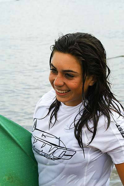 Mayanka Jansen bei der Wakeboard Europameisterschaft in Almere Foto: T Schuringa / www.wakez.com