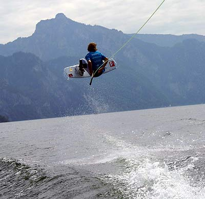 Dominik Hernler beim Austrian Wakeboard Cup in Döbriach Foto: wakeboardAG