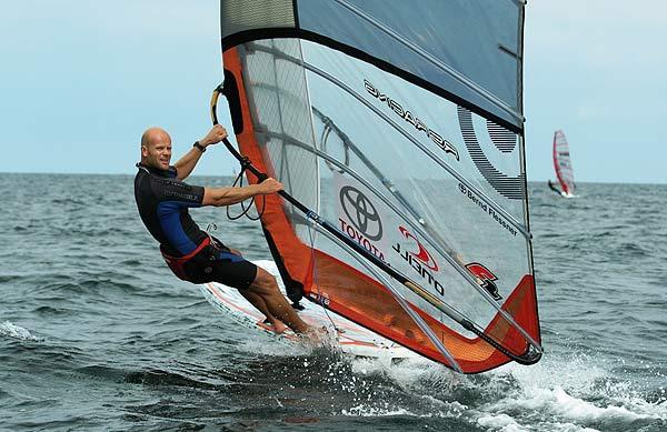 Bernd Flessner beim Deutschen Windsurf Cup in Boltenhagen
