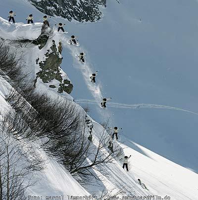 Michi Stanschitz Cliffdrop Foto: Marcel Lämmerhirt