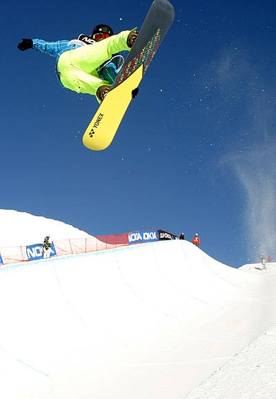 Ryoh Aono beim FIS Snowboard Weltcup in Neuseeland Foto: FIS, Oliver Kraus