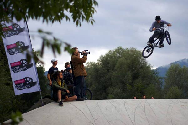 BMX Action in Wörgl (AT) Foto: Local Support