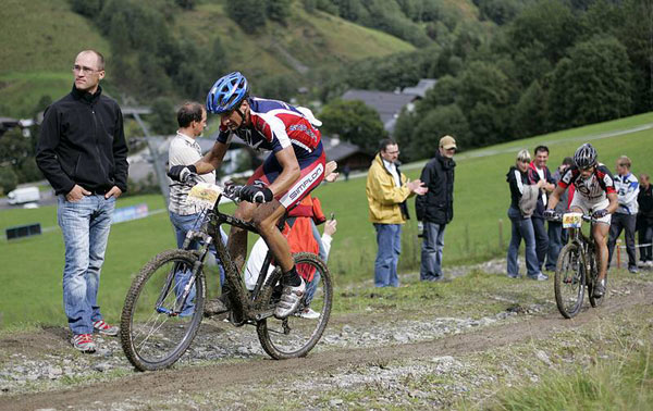 World Games of Mountainbiking 2007 in Saalbach Hinterglemm Foto: Veranstalter