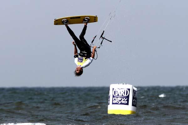 Kitesurf World Cup kommt 2008 nach St. Peter-Ording Foto: Veranstalter