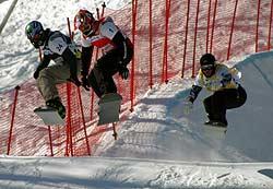 Snowboard Cross Foto: FIS