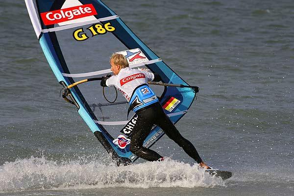 Norman Günzlein fährt auf den fünften Platz beim Surf World Cup in Sylt Foto: Veranstalter
